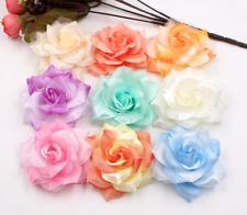 8 colori il venditore Regno Unito NUOVO BELLISSIMO grande in tessuto e pizzo fiore per capelli Clip
