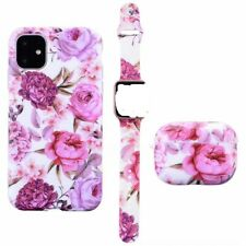 3 PACK - cases for iphone 12 for Apple watch band 38mm for Airpods 1 2 earphone