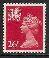 Wales 1982 W61 26p litho phosphorised paper perf. 14 type I Regional MNH