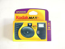 Vintage KODAK MAX Flash One Time Use Camera 27 exp.