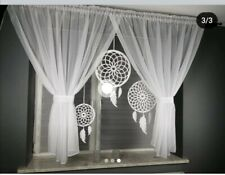 Amazing dreams catcher Voile Net Curtain Ready Made To Hang   /Voiles/Firany
