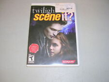 TWILIGHT SCENE IT? (Nintendo Wii) Complete