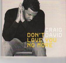 (GR451) Craig David, Don't Love You No More (I'm Sorry) - 2005 DJ CD