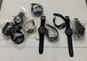 Wholesale Lot 10 Watches For Parts + Repairs Casio Pro Trek G-Shock Luminox Z19