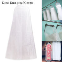 Wedding Dress Garment Protector Dust-proof Covers Bride Gown Storage Bags Cover