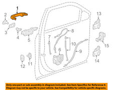 GM OEM-Outside Exterior Door Handle 13593749
