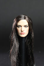 Custom Anne Hathaway 1/6 Head Sculpt for Hot Toys Hot Toys Catwoman Female Body
