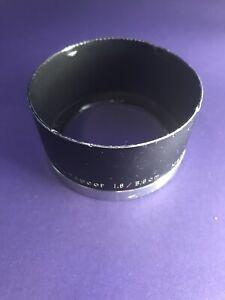 Hood For Topcor RE 58mm 1.8 - UG Condition