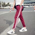 New Men Slim Fit Tracksuit Bottoms Skinny Jogging Joggers Sweat Pants Trousers