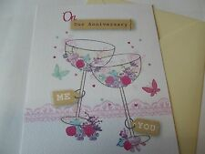 On Our Anniversary....... Anniversary Greetings Card.