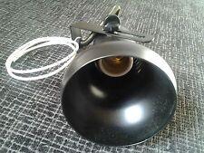 foco metalico negro casquillo normal E27 - orientable