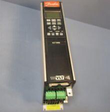 Danfoss VLT 5000 VLT 5002 PT5B20STR3DLF00A00C0 Variable Speed Drive w/ LCD Used