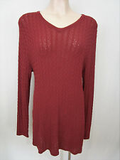 Anthea Crawford Size M Pullover   Russet
