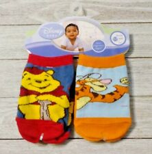 Tigger and Pooh socks 2 pair Boy's 3-12 months