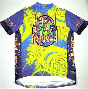 Primal Wear Cycling Jersey Men XL Hazed & Infused Dry-Hopped Ale Rockies Brewing