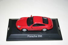 1/43 SCHUCO PORSCHE 996 GUARDS RED DIE CAST