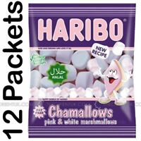 12x Haribo Marshmallows Halal Sweets 70g Box of 12 Discount for More Than 1 Box