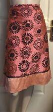 Mid-Calf A-Line 100% Silk Skirts for Women