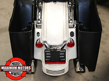 HARLEY STRETCHED CVO STYLE ABS SADDLEBAGS 2014 UP TOURING FLHX ULTRA ROADGLIDE