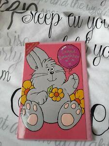 Granddaughter birthday Card NEW - rabbit