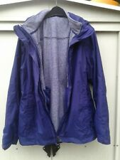 Ladies Purple THE NORTH FACE Hyvent 2 in 1 Hooded Jacket XL