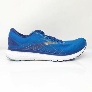 Brooks Mens Glycerin 18 1103291D459 Blue Basketball Shoes Lace Up Size 12.5 D