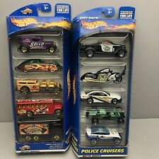 2000 Hot Wheels Gift Packs Set Of 2 Vintage Collectibles New Sealed Cars Trucks