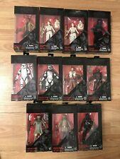 "Star Wars Black Series Lot 6"" (11 Figures) (#1 #2/#2a #3 #4 #6 #7 #8 #9 #10 #11)"