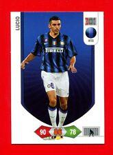 CALCIATORI 2010-2011 11 - Adrenalyn Panini Card BASIC - LUCIO - INTER