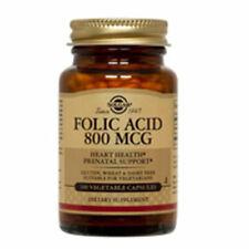 Folic Acid 250 V Caps 800 mcg by Solgar