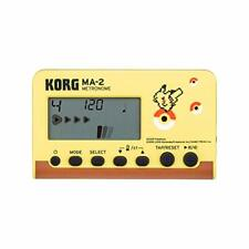 KORG MA-2 PK Pikachu Pokemon Collaboration Model Metronome w/ Tracking NEW
