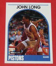 # 167 JOHN LONG DETROIT PISTONS 1989 NBA HOOPS BASKETBALL CARD