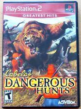 Cabelas Dangerous Hunts.(PS2 Spiel)