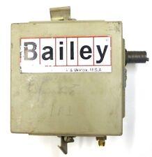 BAILEY BABCOCK & WILCOX I/P CONVERTER, ITOP01V, EN 660-ITOP-1018, VCO TYPE 22/06