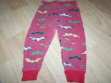 Toddler Size 4T Batman the Dark Knight Red Pajama Pants Bottoms Preowned Used