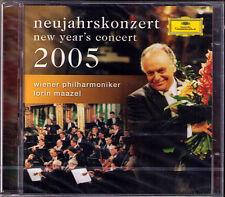 Neujahrskonzert aus Wien 2005 Lorin MAAZEL 2CD New Year's Concert from Vienna DG