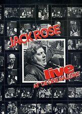 JACK ROSE live at de drie ballons HOLLAND EX+ LP 1977 RARE DUTCH