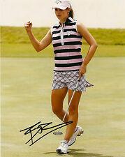 LPGA Beatriz Recari Autographed Signed 8x10 Photo COA