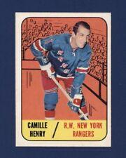 1967-78 Topps CAMILLE HENRY #26 New York Rangers NM-MT *Sharp* LOOK !