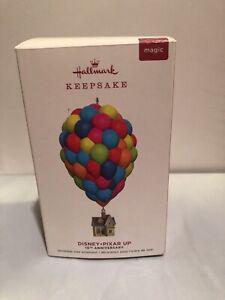 2019 Hallmark Keepsake Disney Pixar UP Ornament 10th Anniversary House Balloons