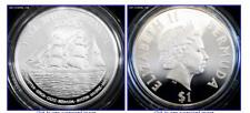 BERMUDA $1 2000 Silver Proof Millennium Tall Ships