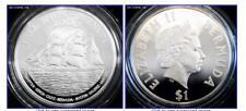 BERMUDA $1 2000 Silver Proof Millennium Tall Ships