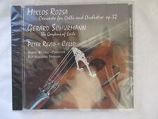 ROZSA - SCHURMANN - REJTO - CELLO CONCERTOS CD - BRAND NEW