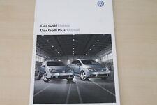 184057) VW Golf V + Golf V plus - United - Prospekt 05/2008