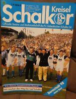 FC Schalke 04 Schalker Kreisel Magazin 16.06.1991 2.Bundesliga Darmstadt 98 /252