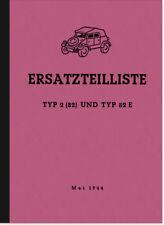VW Type 2 82 E Pièce De Rechange Liste catalogue de pièces de rechange KDF spare parts list catalogue