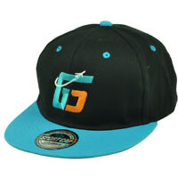 Reshad Jones G5 Safety Miami Dolphins Snapback Flat Bill Hat Cap Black Football
