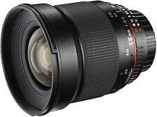 Walimex Pro 16 mm f1:2,0 Festbrennweite manueller Fokus Sony E-Mount A6600 A6400