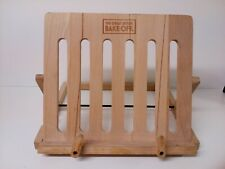 The Great British Bake off  Beech Wood Cook Book Stand