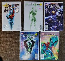 Captain Marvel (Lot of 5) (1999/2002 4th & 5th Series Marvel) #1,#1,#2,#3,#10